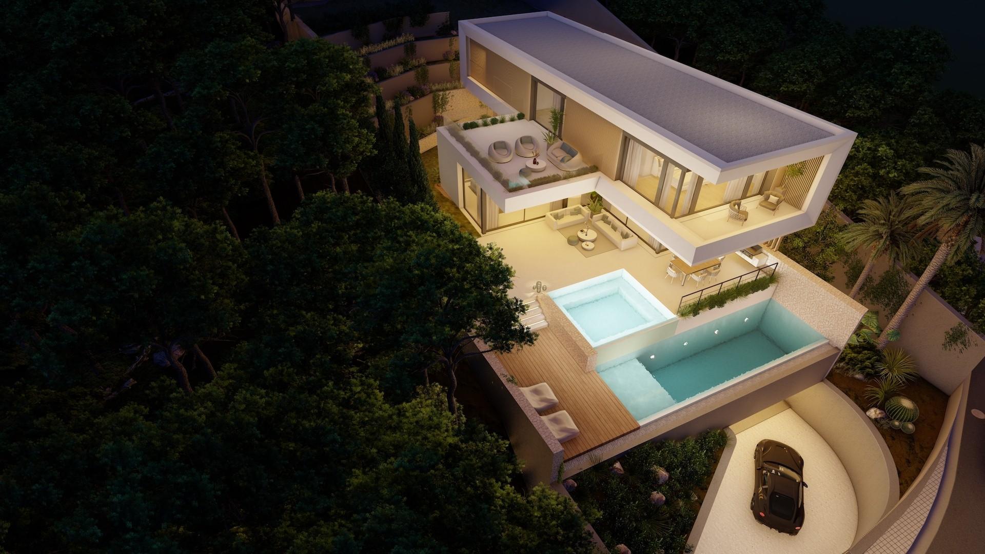 Modern Villa Son Vida Mallorca Evoque House