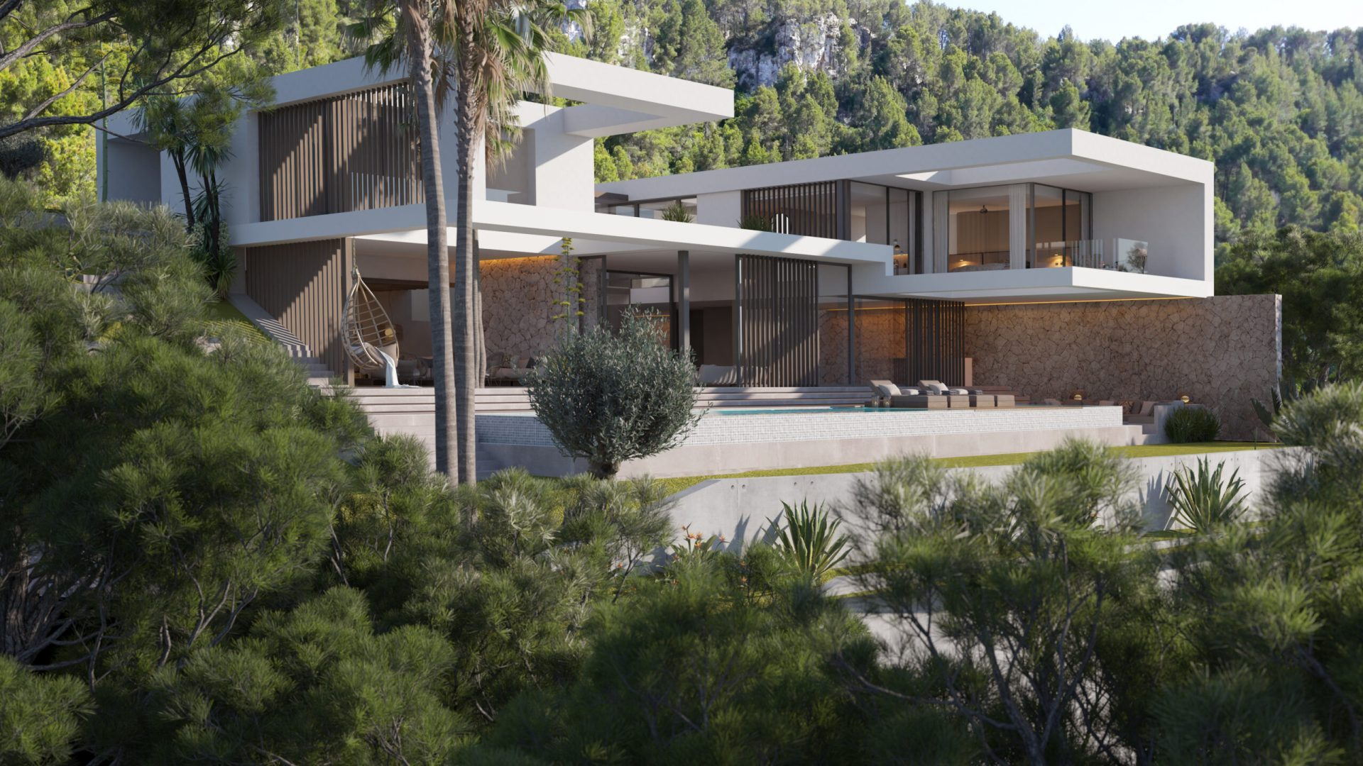 Vanity House Son Vida Immobilien Neubau